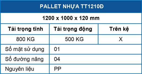 Pallet-TT1210D