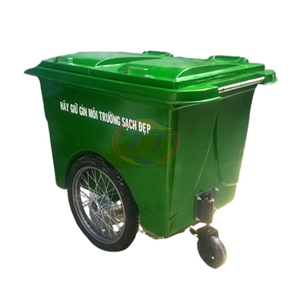 xe-thu-gom-rac-660-lit-banh-lon