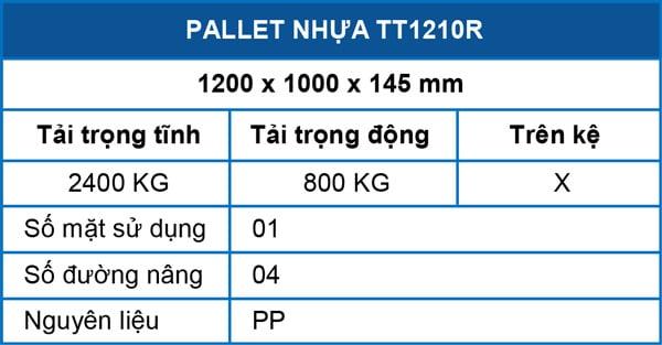 Pallet-TT1210R