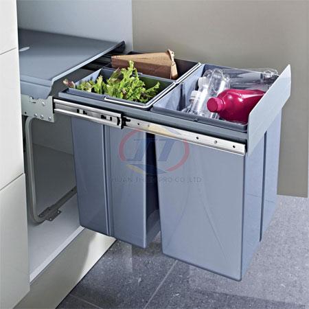 thùng rác âm tủ