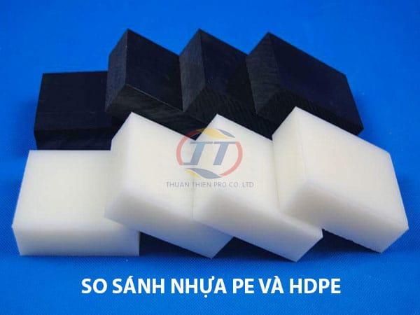 nhựa PE và HDPE