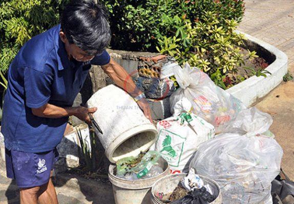 cách làm thùng rác đơn giản